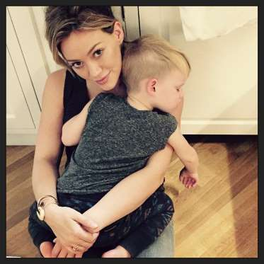 Hilary Duff Snuggles Her Son, Plus More Celebs And Their Kiddos