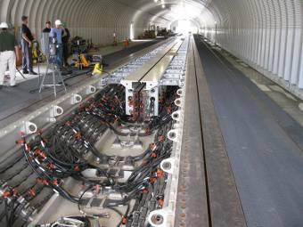 Электромагнитная катапульта – первый реальный запуск