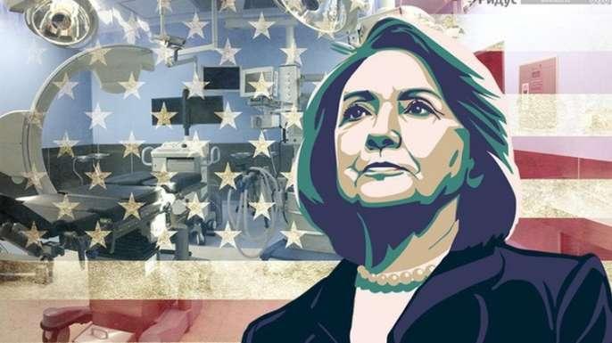 Клинтон закопает США?