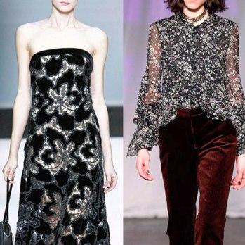 Открываем бархатный сезон — бархатные платья и модные наряды из бархата 2016-2017