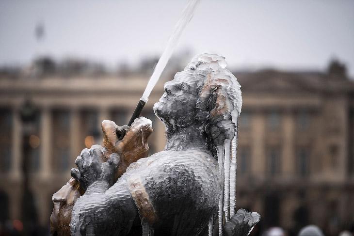 Суровая зима в картинках