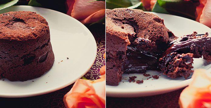 Шоколадный фондан от Джейми Оливера