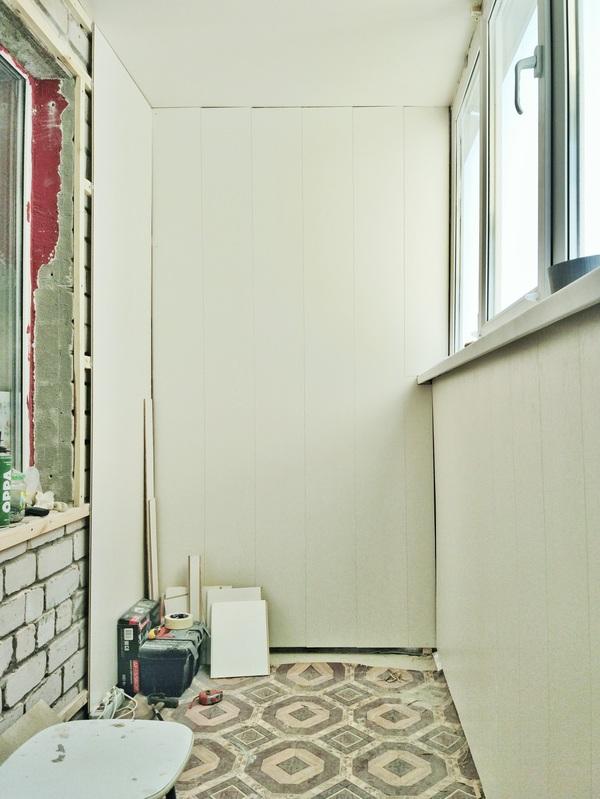 Утепление балкона школа ремонта