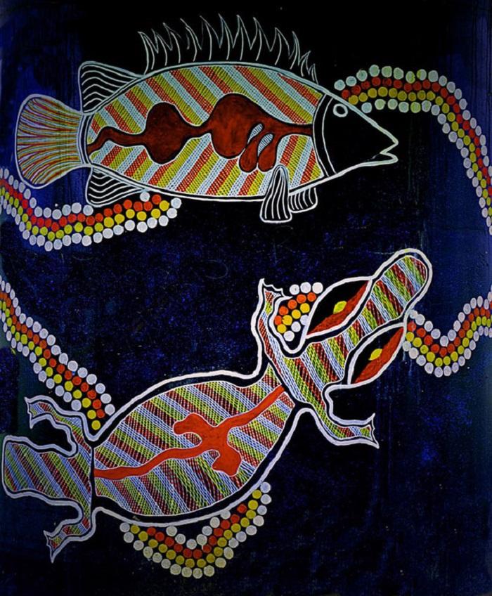 живопись аборигенов австралии