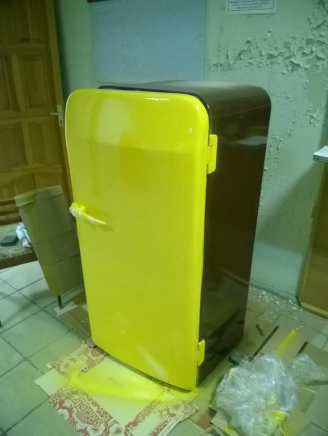 Как отреставрировать старый холодильник фото 69
