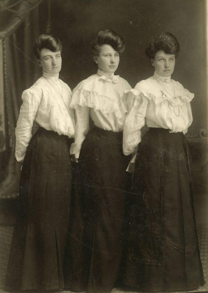 Модные платья и блузки осени 2019 – как у героинь стритстайла 1900-х годов