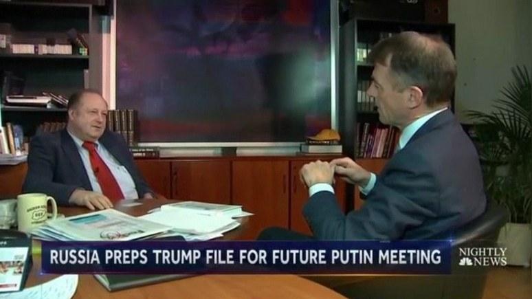 NBC: Для Путина подготовили психологический портрет Трампа на семи листах
