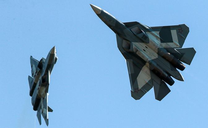 «На Су-57 такие большие заклепки, что летчики ВВС США их видят на радарах»