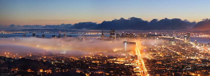 Сан франциско — город мостов и