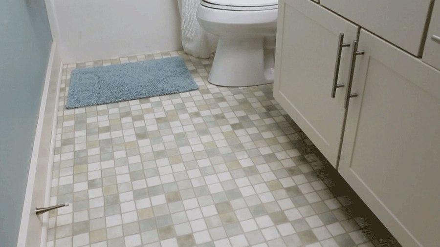 Как правильно мыть пол в ванной комнате