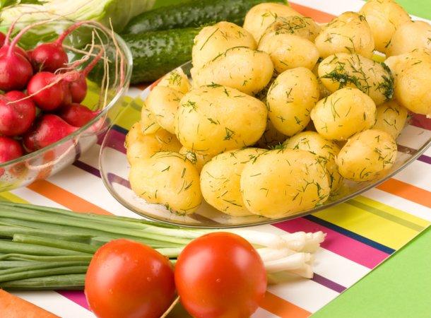 Молодая картошка - 3 оригинальных рецепта. Слойка бантик – это просто, красиво и вкусно!
