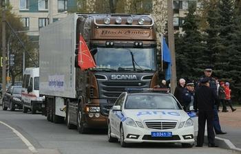 В Новый год большегрузам по Москве дороги перекроют