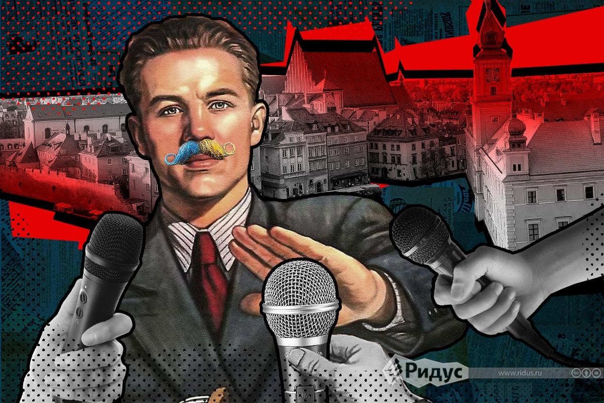Опрос украинцев в Варшаве шо…