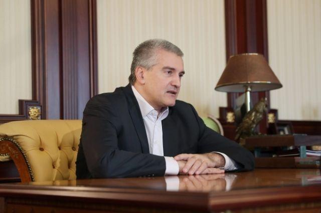 Глава Крыма отжался 18 раз в рамках акции, посвященной выборам президента