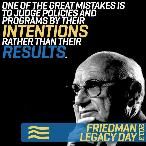 Milton Friedman explains the…