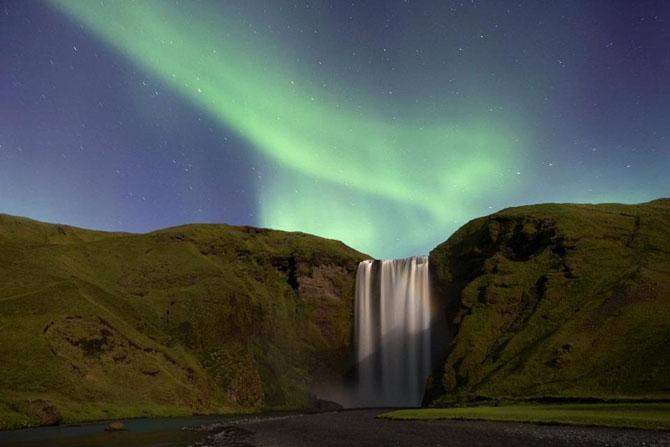 Завораживающая красота водопадов