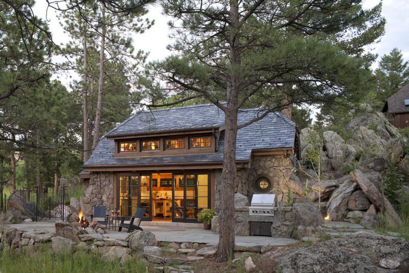 Облицовка фасада камнем – 30 наглядных примеров на фото домов