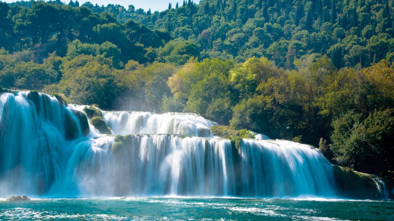 Под чарующий плеск водопадов… (Национальный парк Крка)