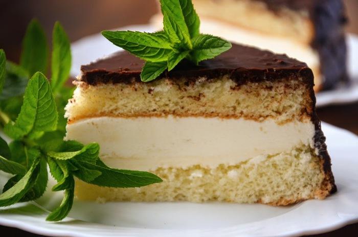 """Торт """"Чародейка"""". Простой и очень вкусный! Торт чародейка, Бисквитный торт, Заварной крем, Бисквит, Марьяна вкусная еда, Длиннопост, Кулинария, Рецепт"""