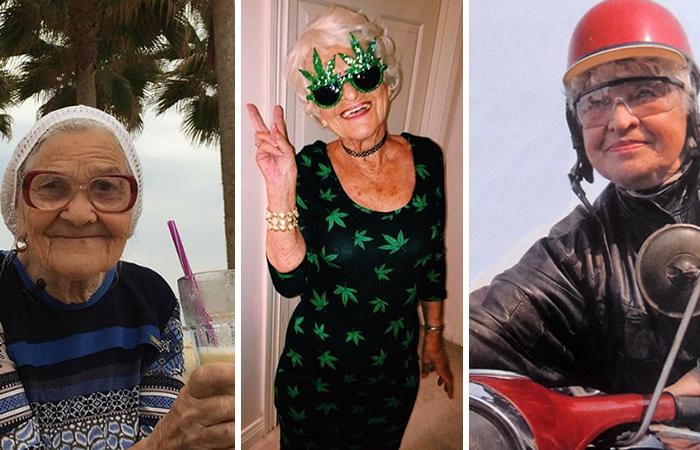 10 самых невероятных бабушек в мире которые считают, что после пенсии жизнь только начинается