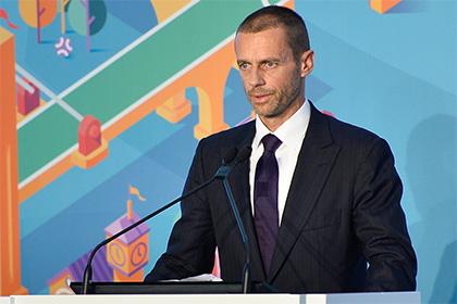 Президент УЕФА рассказал об отсутствии проблем с допингом в российском футболе