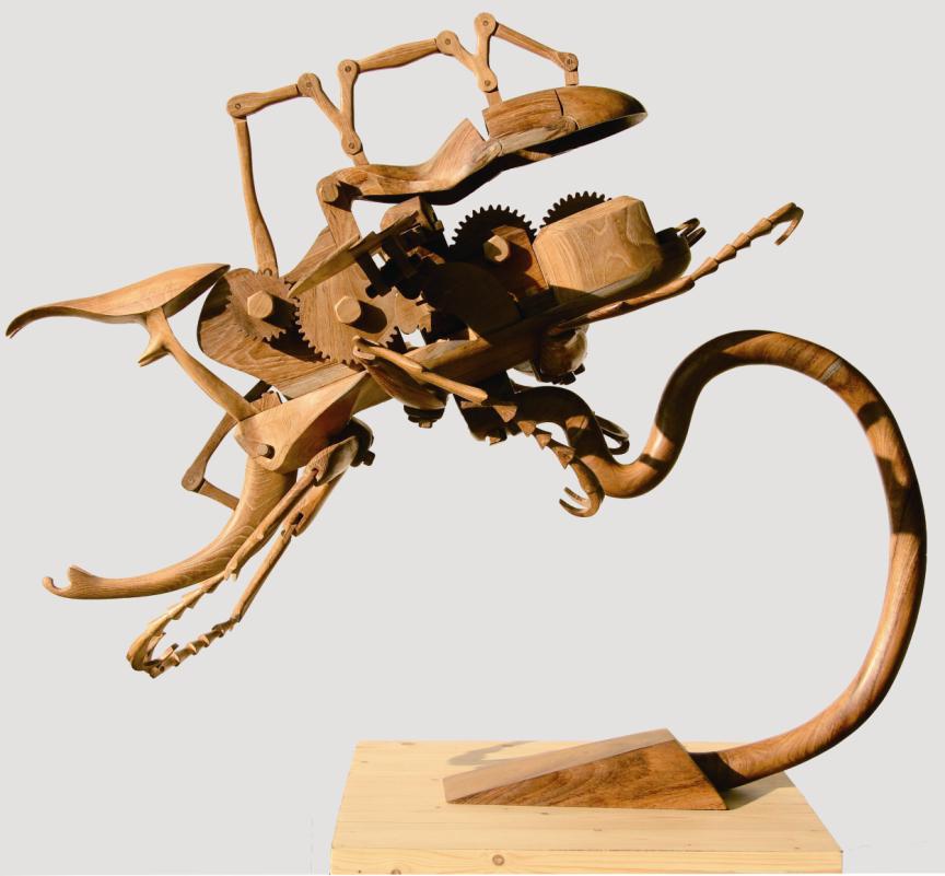 Кинетическая скульптура своими руками чертежи