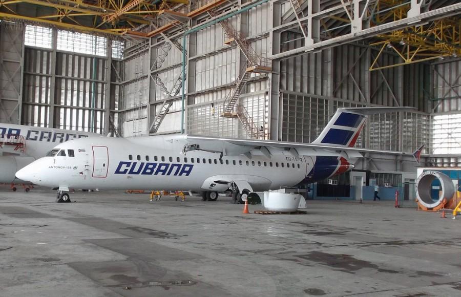 Куба отменяет полеты Ан-158