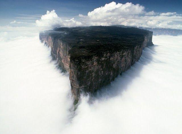 Плато Рорайма - удивительное чудо природы