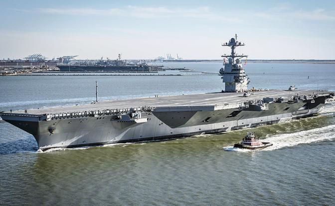 Военно-морской флот США кто-то сглазил