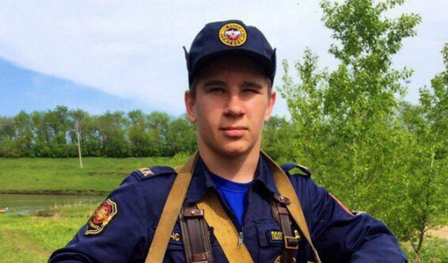 17-летний Дима Полухин спас троих детей из горящей «Зимней вишни»
