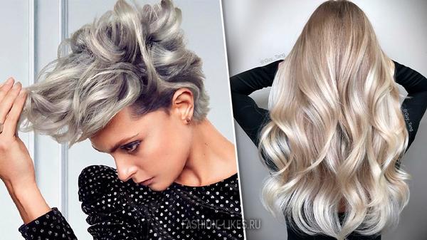 Нарядный шиммер – самое модное окрашивание волос в 2019