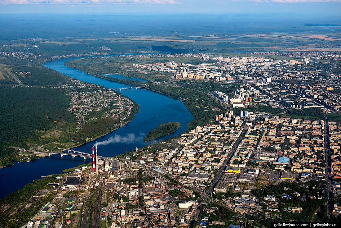 Город, который нельзя назвать серым: Кемерово с высоты птичьего полёта