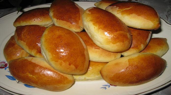 рецепт пирожков печеных в духовке с капустой