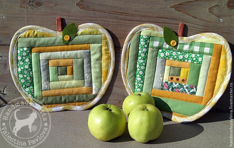 А давайте сошьём яблочки!
