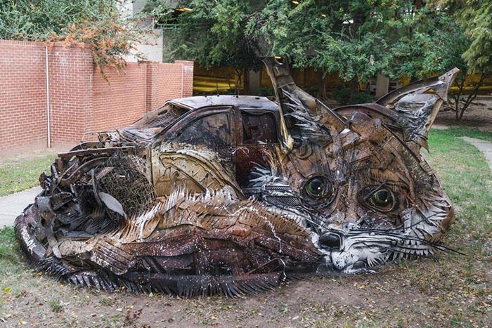 Как превратить мусор в произведение искусства