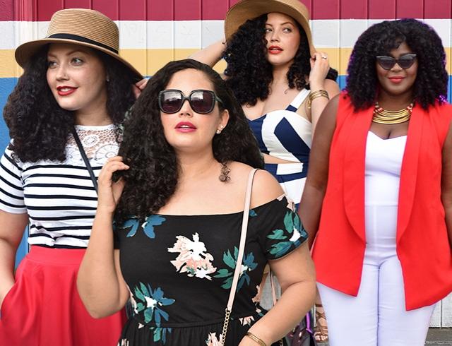 Как одеваться летом полным девушкам: советы модных блогеров plus-size