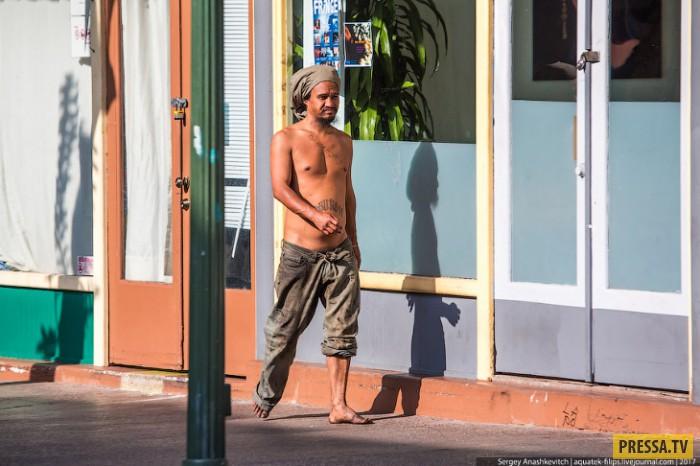 Шикарная жизнь бомжей на Гавайах
