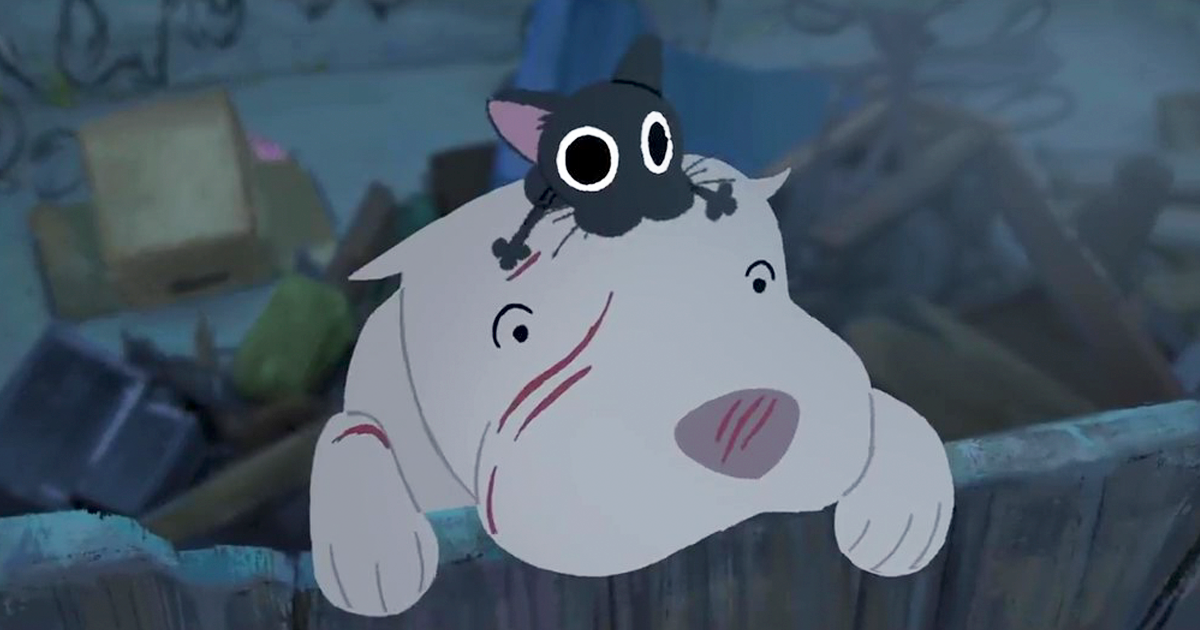 Pixar's New Short Film 'Kitbull' Feature An Unlikely Friendship Between A Stray Kitten And Abused Pitbull