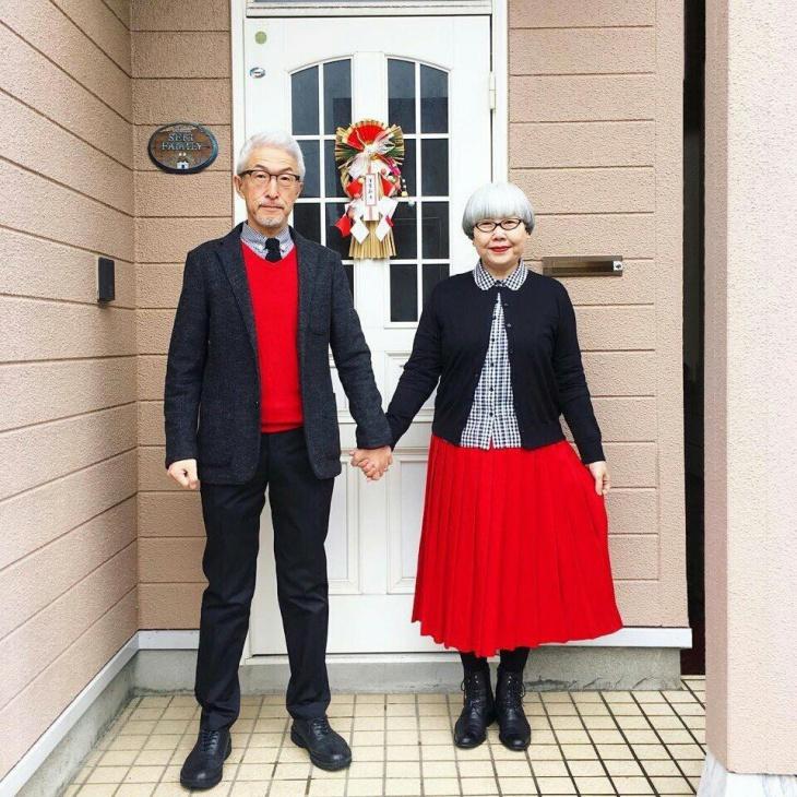 Гармоничная пара японцев