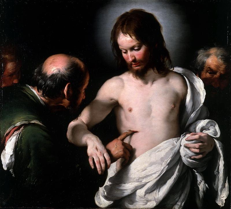 Бернардо Строцци - Неверие святого Фомы. Национальная галерея, Часть 1