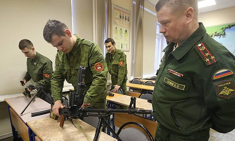 Военные кафедры откроют еще в четырех университетах