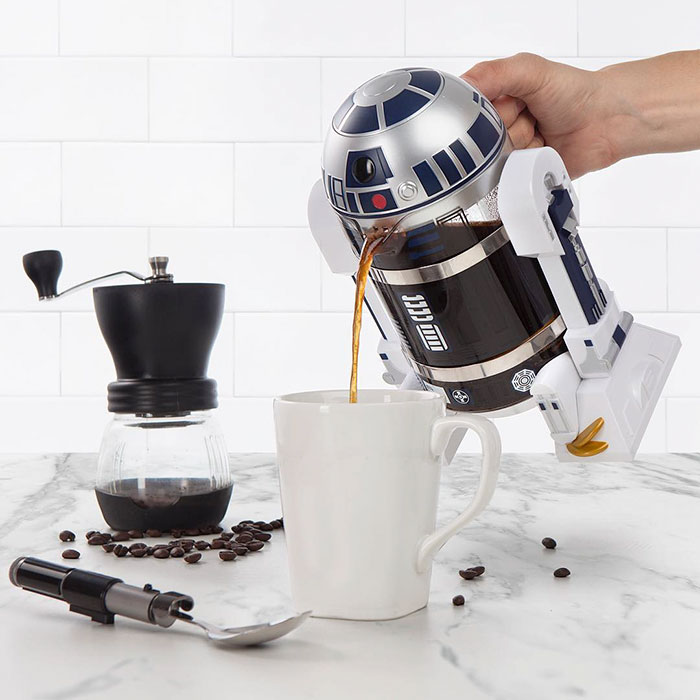 R2-D2 Coffee Press Will Give You The Force To Wake Up