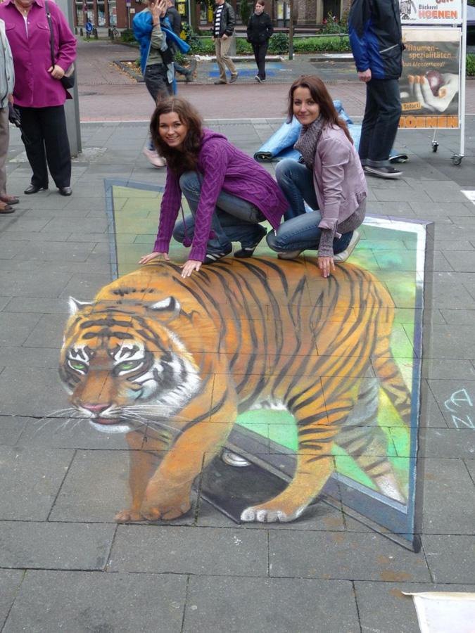 3d 20 Уличные 3D рисунки Николая Арндта