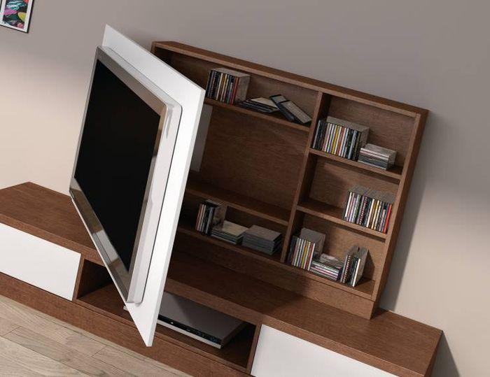 Система хранения за телевизором