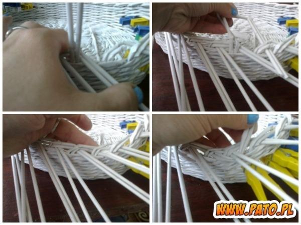 Мастер-класс по плетению корзинки из газетных трубочек (5) (600x450, 170Kb)