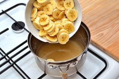 Укрепление организма - бананы с корицей