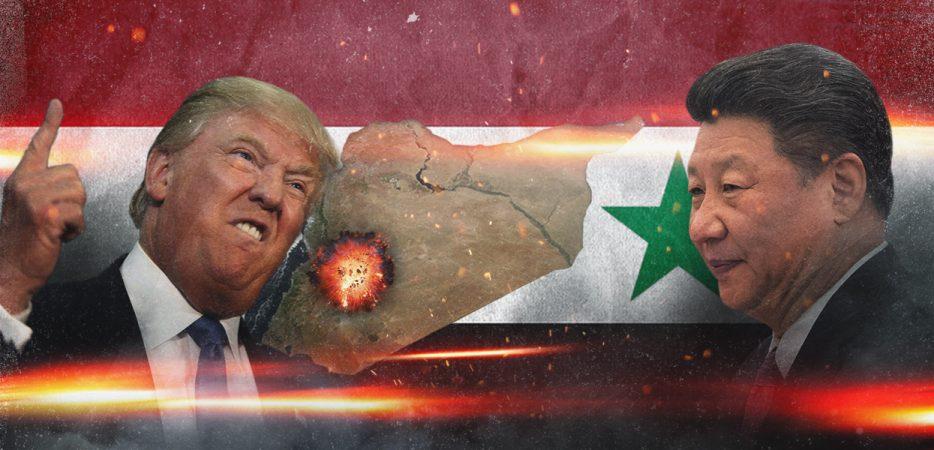 Удар по сирийскому аэродрому…