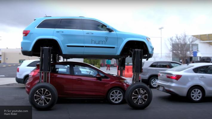 Hum Rider: автомобиль-трансформер как средство борьбы с пробками