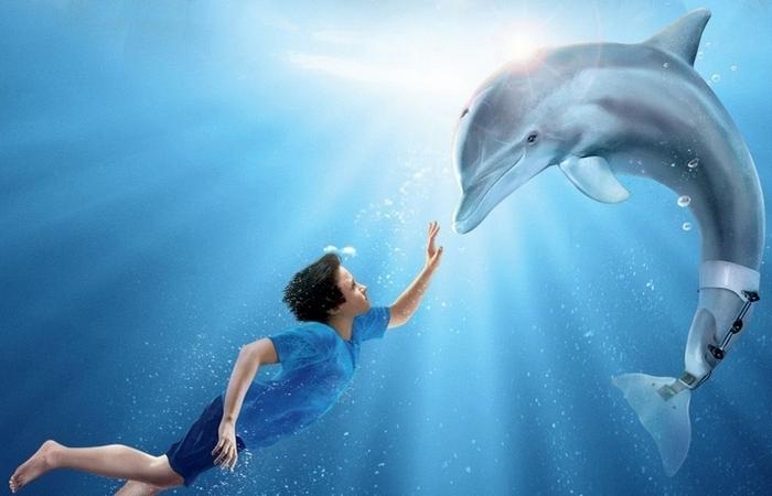 10 великолепных фильмов для семейного просмотра с дельфинами в главной роли
