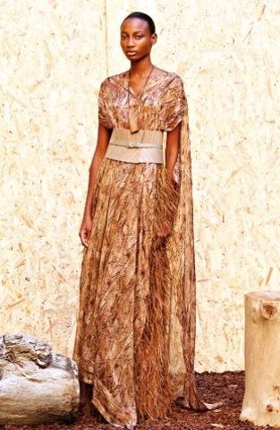 Платье в африканском стиле